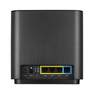 Asus ZenWiFi CT8 fekete AC3000 Mbps Tri-band gigabit AiMesh mesh Wi-Fi router PC