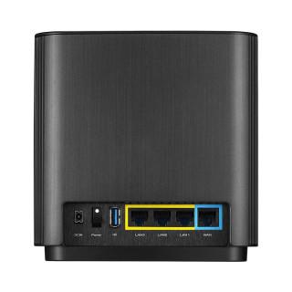 Asus ZenWiFi XT8 fekete AX6600 Mbps Dual-band OFDMA WiFi6 mesh router PC