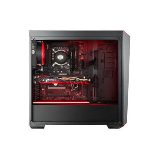 Cooler Master MasterBox Lite 5 RGB (Edzett üveg) - Fekete MCW-L5S3-KGNN-02 PC