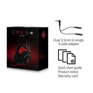 HP OMEN 800 Gaming mikrofonos fejhallgató (1KF76AA) PC