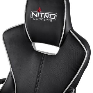 Nitro Concepts E200 Race Fekete-Fehér Gamer Szék (NC-E200E-BW) PC