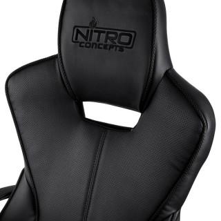 Nitro Concepts E200 Race Fekete Gamer Szék (NC-E200R-B) PC