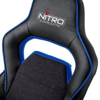 Nitro Concepts E220 Evo Fekete-Kék Gamer Szék (NC-E220E-BB) PC