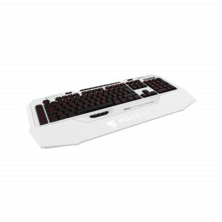 Roccat Isku FX UK Fehér gamer billentyűzet PC