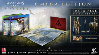 Assassin's Creed Odyssey Omega Edition + falióra PS4