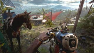 Far Cry 6 Gold Edition + Far Cry 6 Lions of Yara szobor PS4