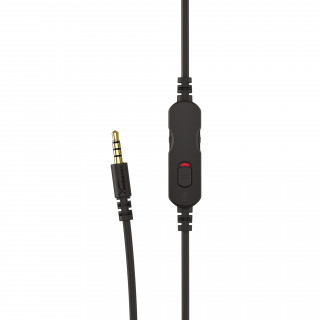 HyperX Cloud Chat (PS4 Licensed) Fekete 3,5 Jack gamer headset (HX-HSCCHS-BK/EM) PS4