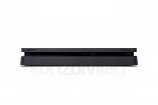 PlayStation 4 (PS4) Slim 1TB + FIFA 19 + DualShock 4 kontroller PS4