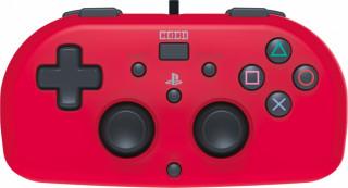 PS4 HoriPad Mini Vezetékes Kontroller (Piros) PS4