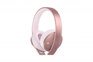 Sony Playstation Gold Wireless Headset (7.1) (Rose Gold) PS4