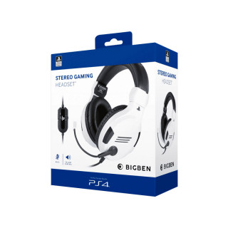 Stereo Gaming Headset V3 PS4 White (Nacon) PS4