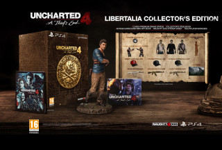 Uncharted 4 A Thief's End - Libertalia Collector's Edition PS4