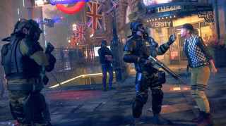 Watch Dogs Legion Gold Edition + Resistant of London szobor PS4