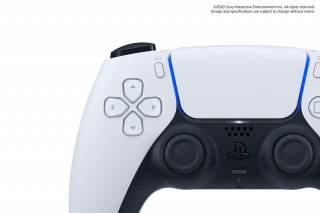 PlayStation®5 (PS5) DualSense™ kontroller (Fehér-fekete) PS5