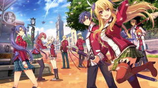 The Legend of Heroes Trails of Cold Steel PS Vita