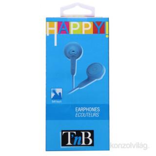 TnB ESAPYBL Happy! kék 3,5mm fülhallgató PC