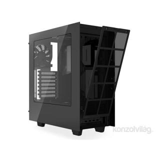 NZXT Source 340 Elite (Fekete, ablakos) (Táp nélküli) ATX ház (CA-S340W-B3) PC