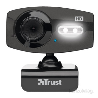 Trust eLight Full HD 1080p mikrofonos fekete webkamera PC