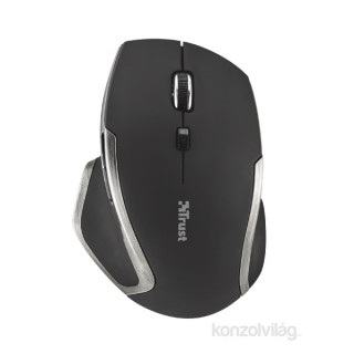 Trust Evo Advanced Compact Laser fekete wless egér PC
