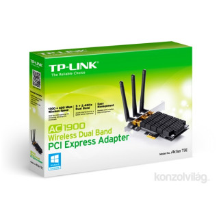 TP-Link Archer T9E AC1900 Dual-Band Vezeték nélküli PCI-E adapter PC
