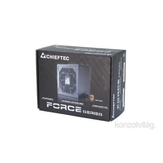 Chieftec Force CPS-350S 350W 85+ bronz 12cm ventillátorral dobozos tápegység PC