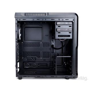 Zalman Z3 PLUS Fekete (Táp nélküli) ATX ház PC