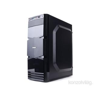 Zalman T3 Fekete (Táp nélküli) mATX ház PC