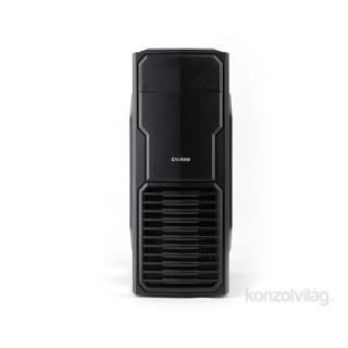 Zalman T4 Fekete (Táp nélküli) mATX ház PC