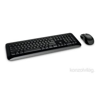 Microsoft Wireless Desktop 850 wless Dobozos HUN Egér kombó fekete billentyűzet PC