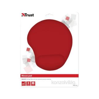 Trust Bigfoot zselés csuklótámaszos piros egérpad PC