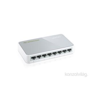 TP-Link TL-SF1008D 8port 10/100Mbps LAN nem menedzselhető asztali Switch PC