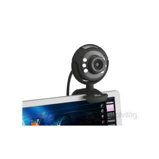 Trust SpotLight Pro 1280x1024 mikrofonos fekete webkamera PC