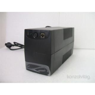 Centralion Aurora 850 DIN 480W fekete szünetmentes tápegység PC