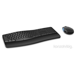 Microsoft Sculpt Comfort Desktop wless Fekete Dobozos HUN Egér kombó billentyűzet PC