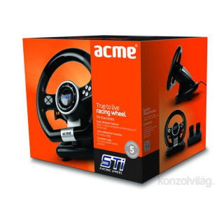Acme STi verseny rezgő kormány - vezetékes PC