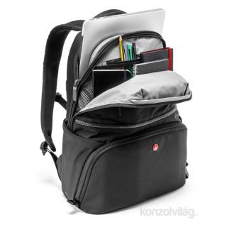Manfrotto Advanced Active Backpack I fekete SLR fényképezőgép hátitáska PC