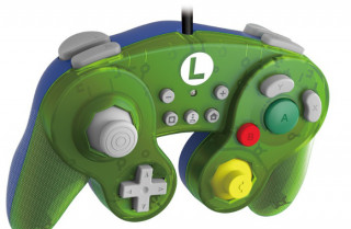 Nintendo Switch GameCube stílusú kontroller - Luigi Nintendo Switch
