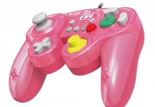 Nintendo Switch GameCube stílusú kontroller - Peach Nintendo Switch