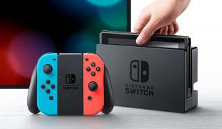 Nintendo Switch (neon kék – neon piros) + Splatoon 2 Nintendo Switch