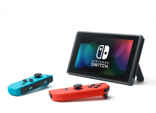 Nintendo Switch (Red-Blue) + Just Dance 2019 Nintendo Switch