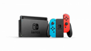 Nintendo Switch (Red-Blue) + Splatoon 2 + Super Mario Odyssey Nintendo Switch