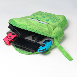 Splatoon 2 Plush Pouch for Nintendo Switch (Zöld) Nintendo Switch