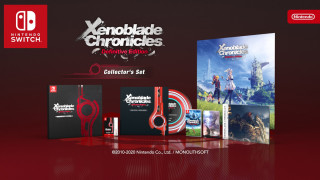 Xenoblade Chronicles Definitive Edition Collector's Set Nintendo Switch
