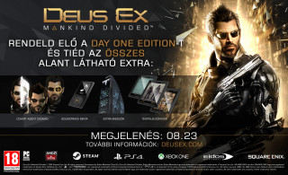 Deus Ex Mankind Divided Day One Edition Xbox One