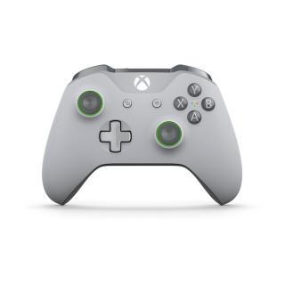 Xbox One Vezeték nélküli Kontroller (Szürke/Zöld) Xbox One