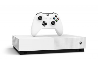 Xbox One S All-Digital Edition + Minecraft + Sea of Thieves + Fortnite Legendary Evolving Skin + 2000 V-Bucks Xbox One
