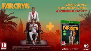 Far Cry 6 Ultimate Edition + Far Cry 6 Lions of Yara szobor Xbox Series