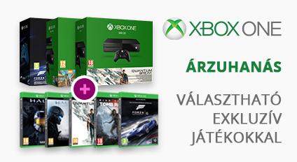 Xbox One árzuhanás, választható exkluzív játékokkal!