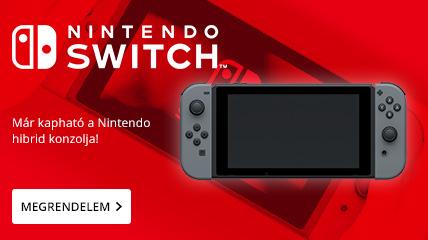 Megjelent a Nintendo Switch!