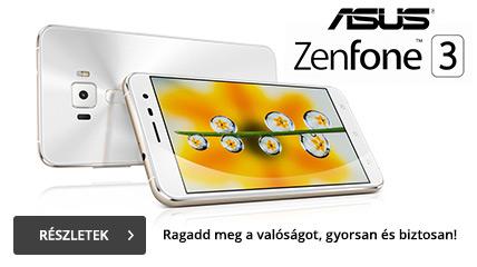 Megjelent a Zenfone 3!